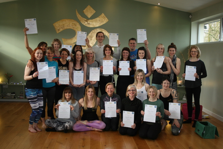 Yoga Teacher Training Glasgow Group 2